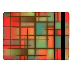 Background Abstract Colorful Samsung Galaxy Tab Pro 12 2  Flip Case by Wegoenart