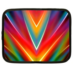 Colorful Background Art Pattern Netbook Case (xl)