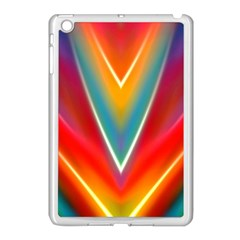 Colorful Background Art Pattern Apple Ipad Mini Case (white)