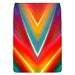Colorful Background Art Pattern Removable Flap Cover (l)