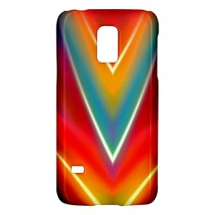 Colorful Background Art Pattern Samsung Galaxy S5 Mini Hardshell Case