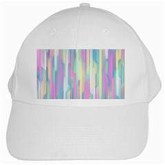 Background Abstract Pastels White Cap by Wegoenart