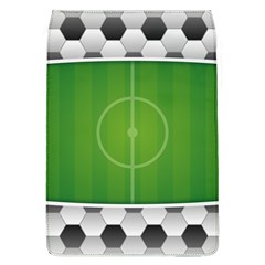 Background Sports Soccer Football Removable Flap Cover (l)
