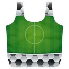 Background Sports Soccer Football Full Print Recycle Bag (xl)