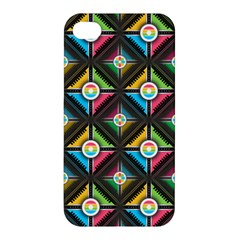 Seamless Pattern Background Abstract Apple Iphone 4/4s Hardshell Case