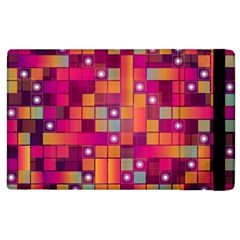Abstract Background Colorful Apple Ipad 2 Flip Case