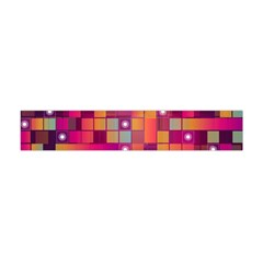Abstract Background Colorful Flano Scarf (mini)