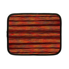 Colorful Abstract Background Strands Netbook Case (small)