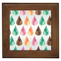 Background Colorful Abstract Framed Tiles
