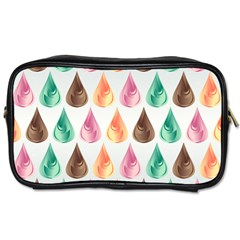 Background Colorful Abstract Toiletries Bag (two Sides)