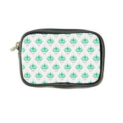 Plant Pattern Green Leaf Flora Coin Purse
