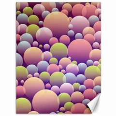 Abstract Background Circle Bubbles Canvas 36  X 48