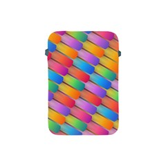 Colorful Background Abstract Apple Ipad Mini Protective Soft Cases by Wegoenart