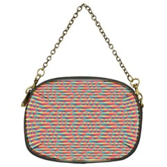 Background Abstract Colorful Chain Purse (two Sides)