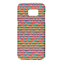 Background Abstract Colorful Samsung Galaxy S7 Edge Hardshell Case