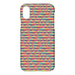 Background Abstract Colorful Apple Iphone X Hardshell Case