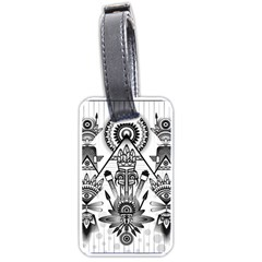 Ancient Parade Ancient Civilization Luggage Tags (one Side)  by Wegoenart