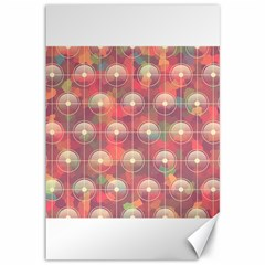 Colorful Background Abstrac Pattern Canvas 12  X 18