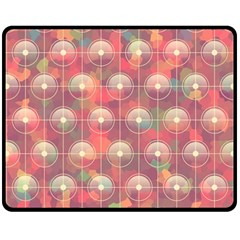 Colorful Background Abstrac Pattern Fleece Blanket (medium)