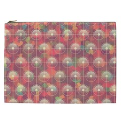 Colorful Background Abstrac Pattern Cosmetic Bag (xxl)