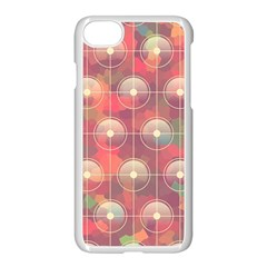 Colorful Background Abstrac Pattern Apple Iphone 8 Seamless Case (white) by Wegoenart