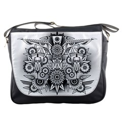 Forest Patrol Tribal Abstract Messenger Bag