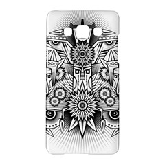 Forest Patrol Tribal Abstract Samsung Galaxy A5 Hardshell Case
