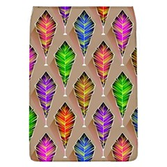 Abstract Background Colorful Leaves Removable Flap Cover (l)