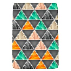 Abstract Geometric Triangle Shape Removable Flap Cover (s)