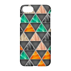 Abstract Geometric Triangle Shape Apple Iphone 7 Hardshell Case