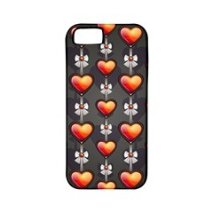 Love Heart Background Apple Iphone 5 Classic Hardshell Case (pc+silicone)