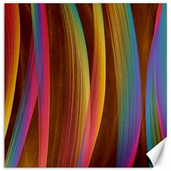 Abstract Background Colorful Canvas 16  X 16