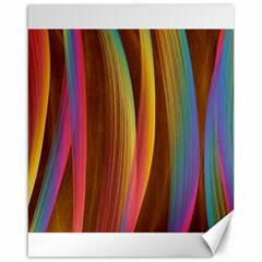 Abstract Background Colorful Canvas 16  X 20  by Wegoenart