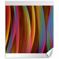 Abstract Background Colorful Canvas 20  X 24