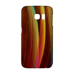 Abstract Background Colorful Samsung Galaxy S6 Edge Hardshell Case