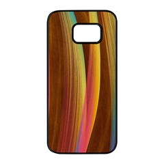 Abstract Background Colorful Samsung Galaxy S7 Edge Black Seamless Case