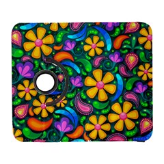 Floral Paisley Background Flowers Samsung Galaxy S  Iii Flip 360 Case