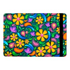 Floral Paisley Background Flowers Samsung Galaxy Tab Pro 10 1  Flip Case
