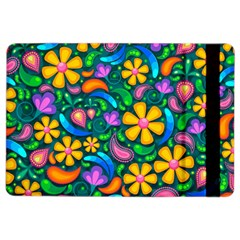 Floral Paisley Background Flowers Ipad Air 2 Flip