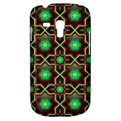 Pattern Background Bright Brown Samsung Galaxy S3 Mini I8190 Hardshell Case