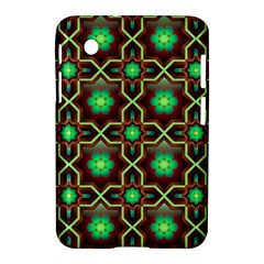 Pattern Background Bright Brown Samsung Galaxy Tab 2 (7 ) P3100 Hardshell Case