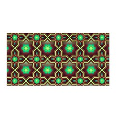 Pattern Background Bright Brown Satin Wrap