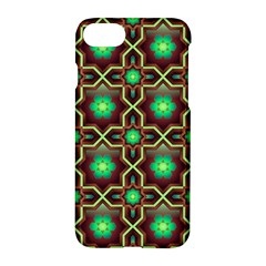 Pattern Background Bright Brown Apple Iphone 8 Hardshell Case