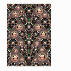 Background Abstract Pattern Green Large Garden Flag (two Sides)