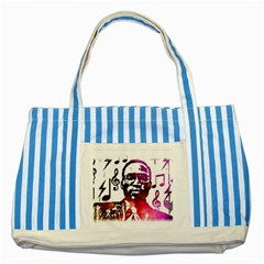 Befunky Mgclothingstore Jpg Striped Blue Tote Bag