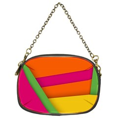 Background Abstract Chain Purse (one Side)