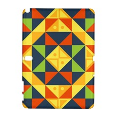 Background Geometric Color Samsung Galaxy Note 10 1 (p600) Hardshell Case