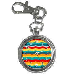 Retro Colors 60 Background Key Chain Watches