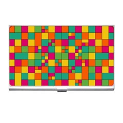 Abstract Background Abstract Business Card Holder