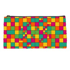 Abstract Background Abstract Pencil Cases